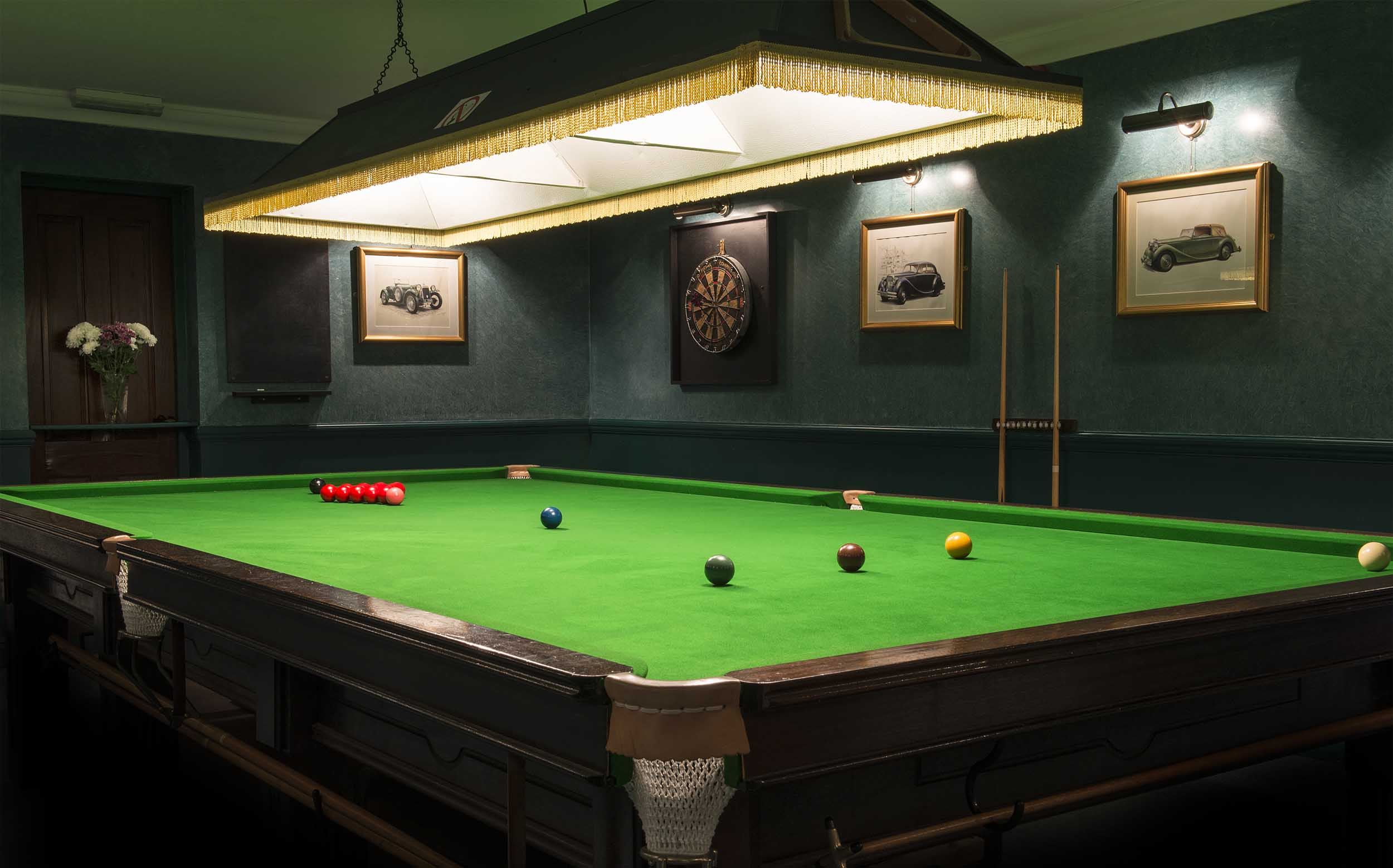 Spanhoe Snooker Room